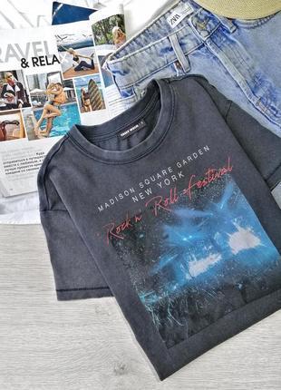 Стильная трендовая футболка tally weijl с принтом