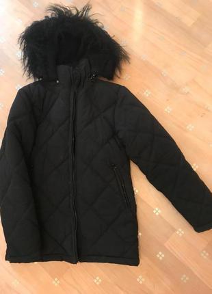 Куртка - пуховик подростковая зима