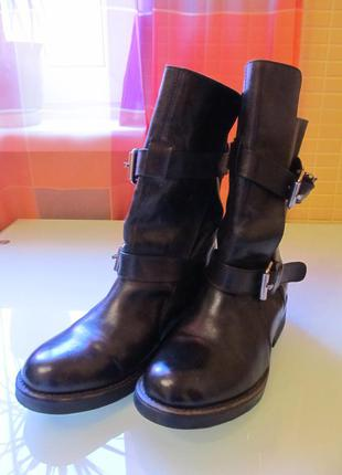 Модные женские ботинки steve madden кожа