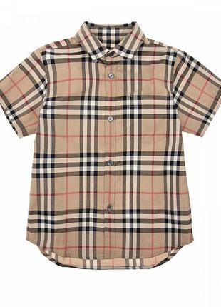 Рубашка детская на мальчика ,burberry