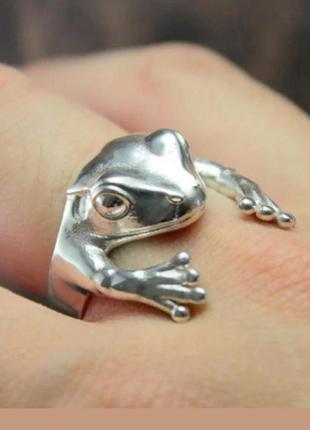 Крутое кольцо жаба колечко жабка