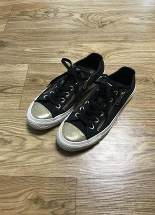 Кеды чёрные converse all star 38 размер