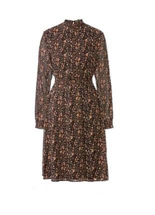 Шифоновое платье в цветочный принт l 40 euro esmara германия
