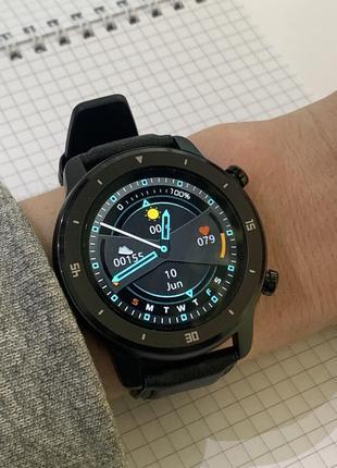 Новые смарт-часы modfit mt1/mt2 black. оригинал! мужские/женские