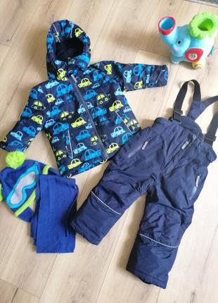 Комбинезон куртка термо полукомбинезон topomini topolino коллекция зима 2021