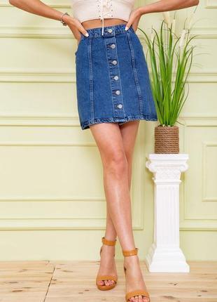 Ефектна красива коротка джинсова міні  спідниця, юбка турция