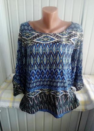 Коттоновая тоненькая блуза