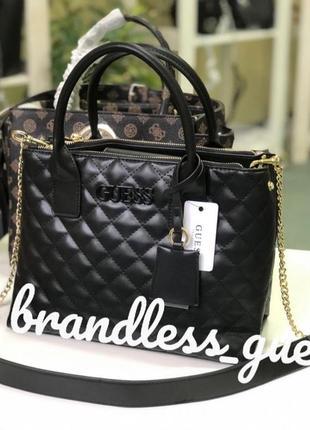 Женская сумка guess elliana status satchel оригинал