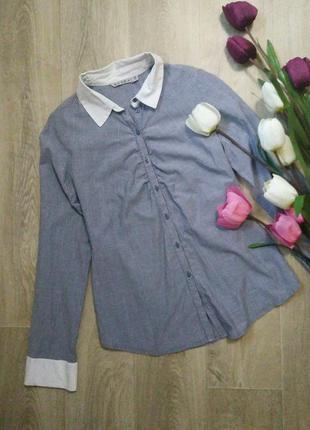 Классическая рубашка,размер s-m