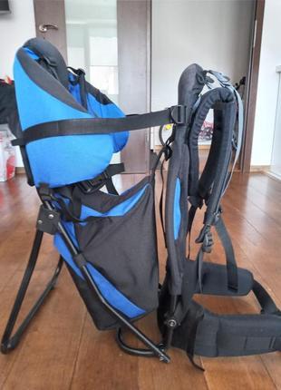 Рюкзак переноска deuter kid для походов с детьми германия на вес ребенка до 22 кг.