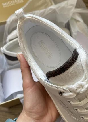Michael kors белые кроссовки кеды кожа оригинал корс5 фото