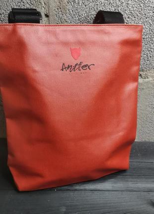 Суперская сумка от люксового французкого бренда antler
