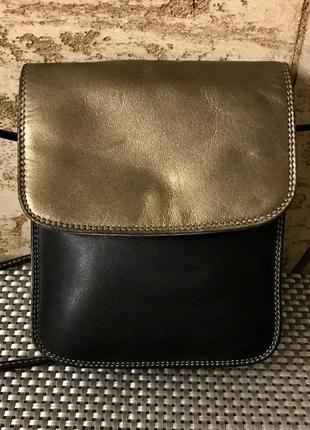Mywalit италия! натуральная кожа! трендовая сумочка-карман crossbody!