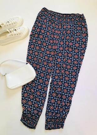 Вискозные штаны в восточном стиле