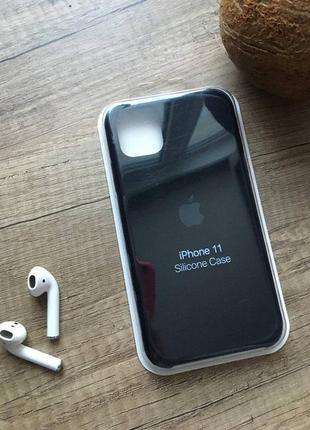 Чорний чохол на iphone 11/айфон 11