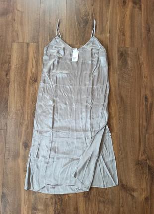 Новое платье комбинация h&m