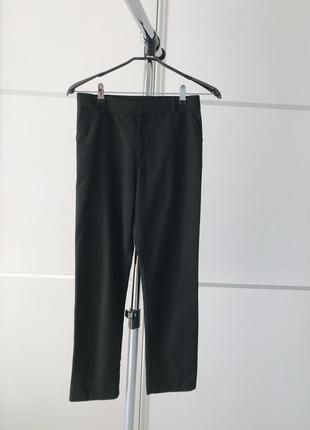 Брюки, черные классические штаны, укороченные классические брюки.