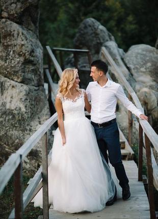 Весільна сукня1 фото