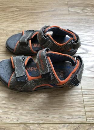 Кожаные босоножки сандалии для мальчика с германии