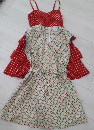 Натуральне плаття котонове