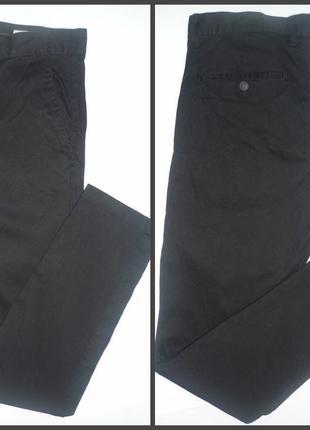 Брюки-джинсы с высокой посадкой h&m р.л-хл