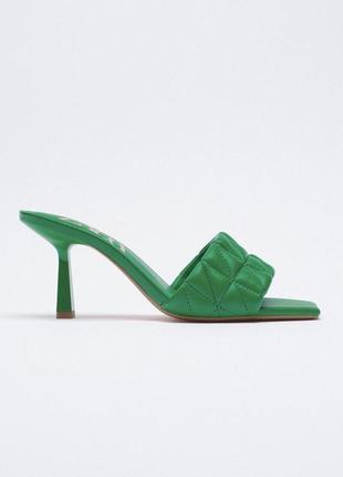 Стильные яркие босоножки сандалии от zara оригинал новые