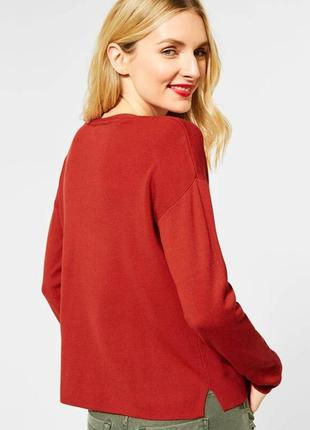 Пуловер с v-образным вырезом отstreet one germany