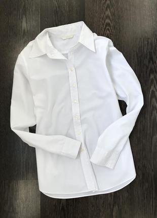 Женская белая рубашка marks&spenser