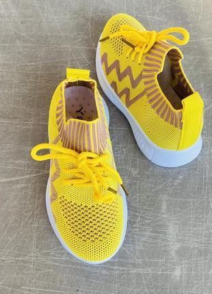Легкие летние желтые кроссовки/наложка/распродажа2 фото