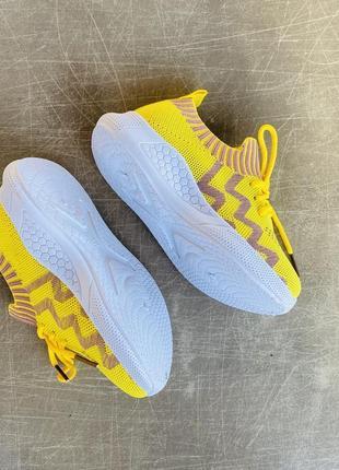 Легкие летние желтые кроссовки/наложка/распродажа6 фото