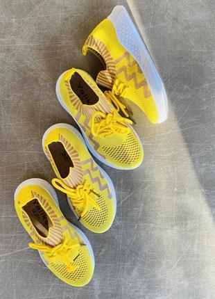 Легкие летние желтые кроссовки/наложка/распродажа4 фото