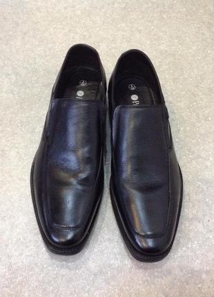 Классические кожаные туфли pavers
