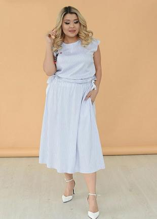 Платье белое до 56 р