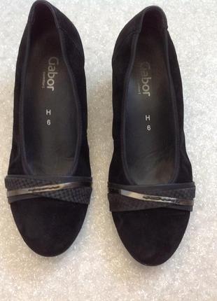 Качественные туфли кожа замша