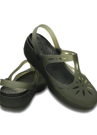 Сандалии crocs carlie w7 (наш 37 рр). оригинал, крокс, сабо, клоги