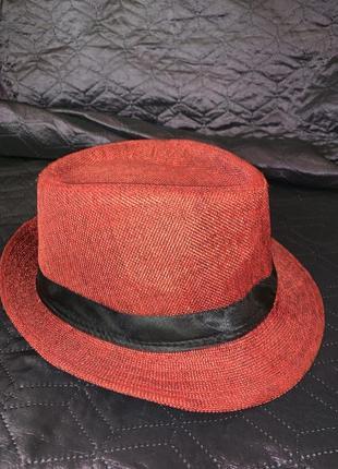 Солнцезащитная шляпа федора марсала кепка бейсболка шапка пляжная
