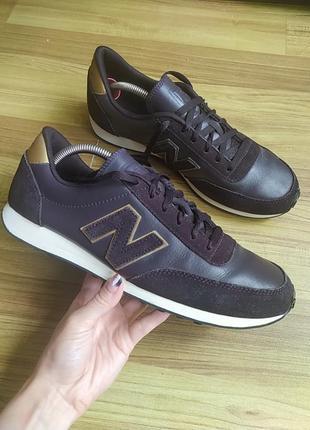 Шкіряні кросівки new balance 410