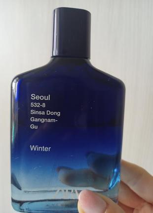Zara seul winter духи