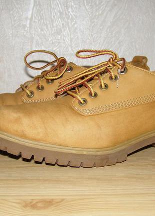 Аккуратные ботинки timberland 38 размера, оригинал, вьетнам, нат. кожа