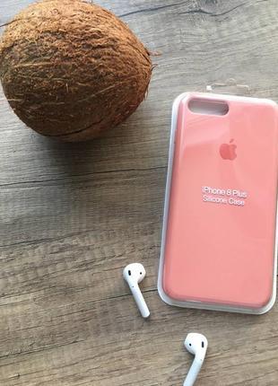 Кораловий чохол на iphone 8 plus/айфон 8+