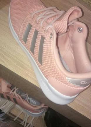 Женские кроссовки для бега adidas cloudfoam qt racer4 фото