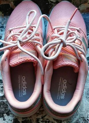 Женские кроссовки для бега adidas cloudfoam qt racer5 фото