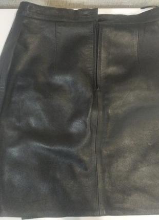 Юбка кожа creazon berto lucci размер м