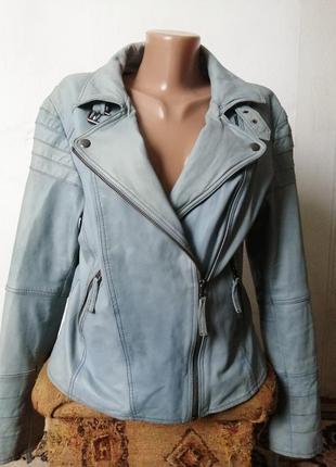 Куртка из натуральной, очень мягкой кожи, под джинс👍