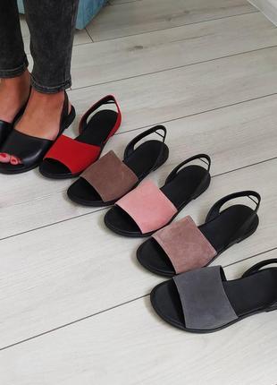 Замшеві босоніжки еспадрильї эспадрильи сандалии