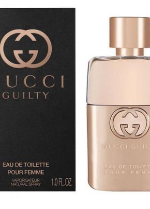 Женская туалетная вода, парфюм gucci guilty