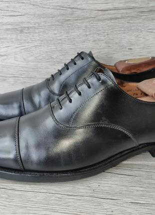 Crockett and jones 41.5p туфли мужские кожаные англия