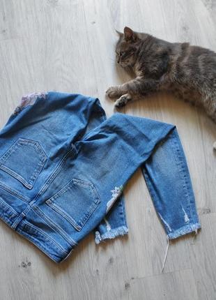 Трендовые женские джинсы2 фото
