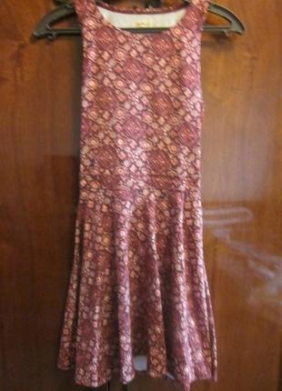 Летнее платье hollister xxs-xs
