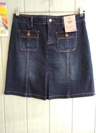 Новая стильная джинсовая юбка